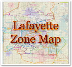 Lafayette Delivery Area